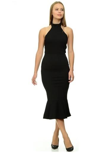 Missguided Abiye Elbise Siyah